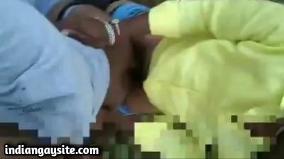 Gay public porn of horny outdoor Indian fuck