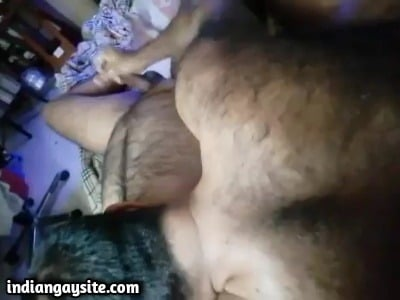 Gay daddies porn of a hot handjob