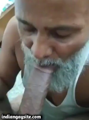 Gay grandpa porn of slutty cock sucker