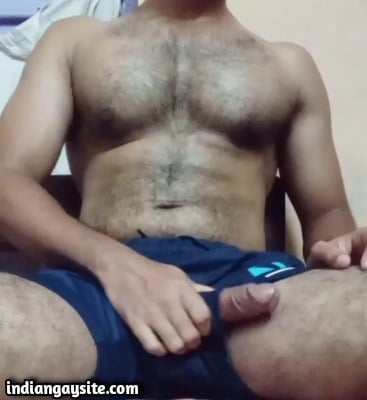 Gay hairy hunk porn of sexy stripper