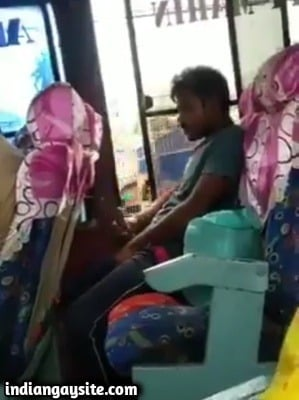 Gay voyeur porn of bus cumshot filming