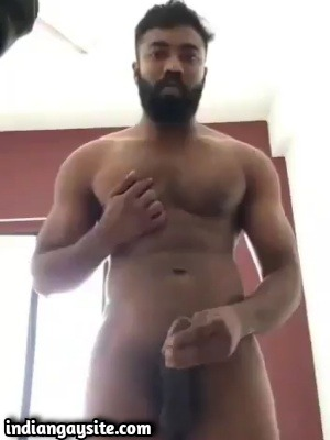 Mallu gay video of horny hunky nude guy