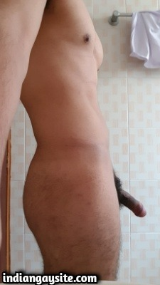 Naked hunk pics of horny and wild Indian man