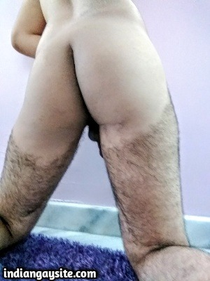 Naked man ass pics of sexy Indian hunk
