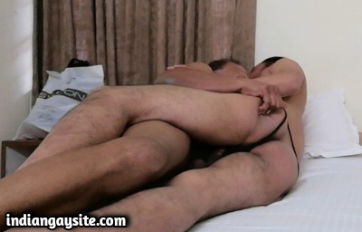 Desi gay sex pics of horny daddy with twink