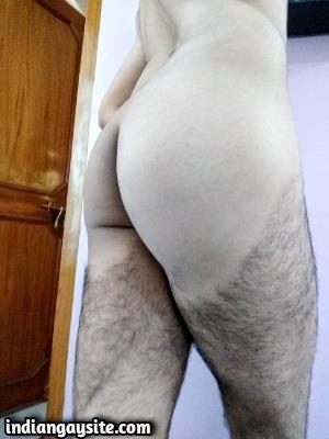 Naked man ass pics of sexy Indian hunk