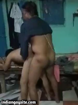 Gay Indian daddies fucking hard after drinking