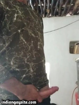 Gay cam wank video of horny desi hunk