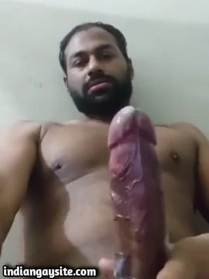 Gay tamil hunk cumming hard on cam