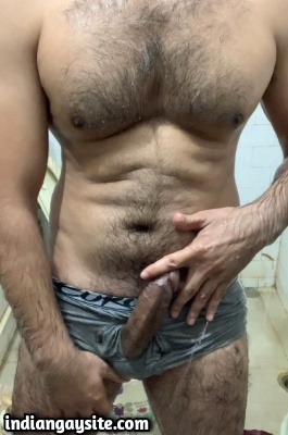 Naked hairy hunk pics of horny rock hard stud