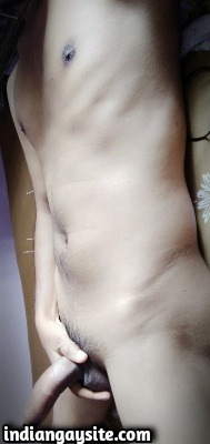 Nude boy pics of a sexy and horny Indian twink