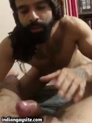Gay escort porn video of sexy Indian hunk