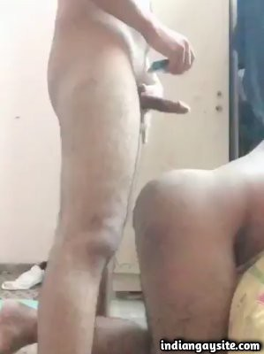 Paki fuck video of horny men's doggy style