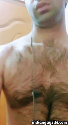 Pakistani hairy man jerking off on sexy cam show