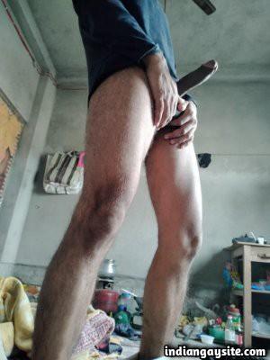 Big dick hunk teasing huge boner online