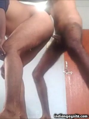 Married gay men fucking hard in doggy style