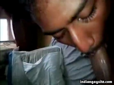 Twink cock sucker from Indian on a hard dick
