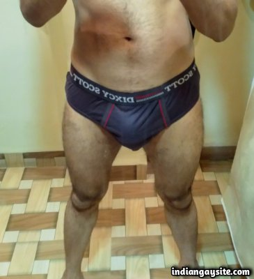 Nude hunk pics of hot and hairy Indian man