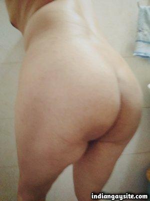 Desi nude bottom teasing hot bare bubbly ass