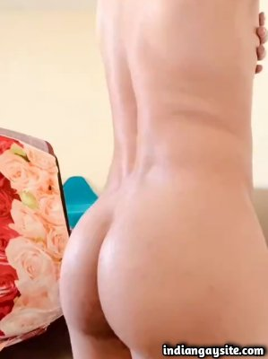Big bubbly ass of a horny young desi bottom