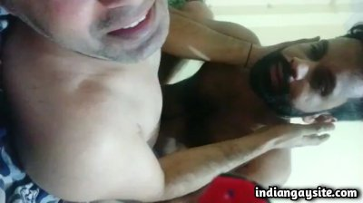 Wild gay top fucking his bottom passionately