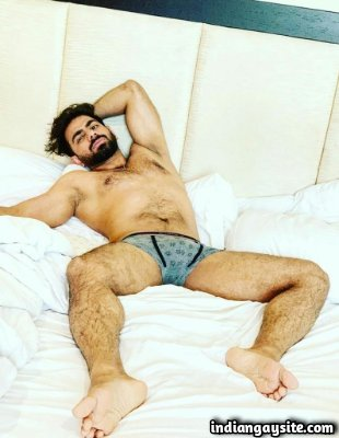 Nude Indian men showing sexy body in briefs