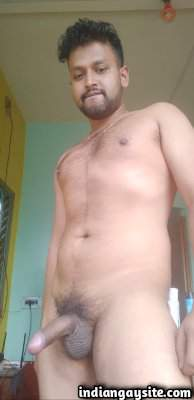 Big desi dick of a sexy and hot nude Indian hunk