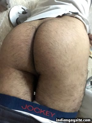 Big hard cock of horny circumcised young boy
