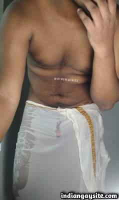 Lungi man pics of a hot naked Indian hunk