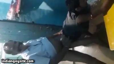 Tamil gay daddy fucking a horny bottom in the ass